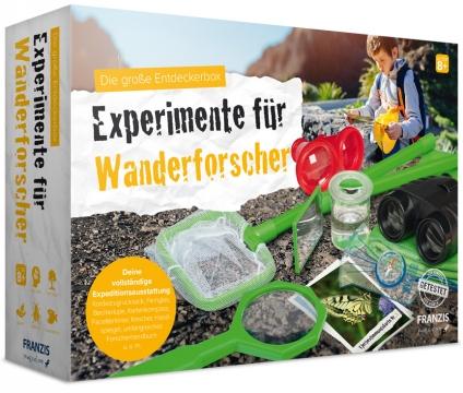 Die große Entdeckerbox: Experimente für Wanderforscher