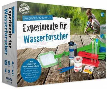 Die große Entdeckerbox: Experimente für Wasserforscher