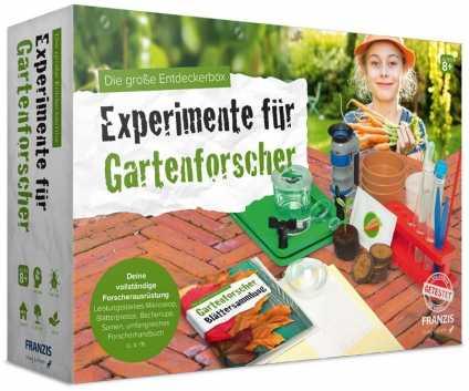 Die große Entdeckerbox: Experimente für Gartenforscher