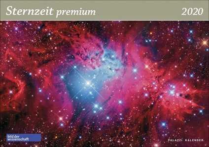 Sternzeit premium 2020. Panorama Wandkalender!