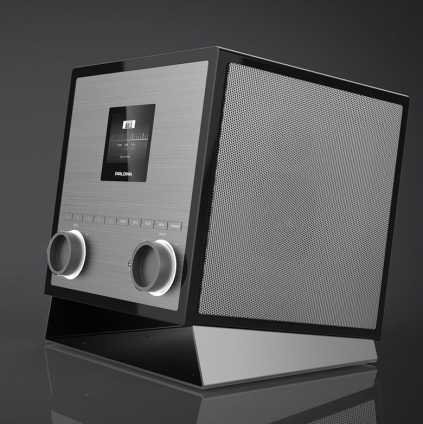 QUUBI. 2.1 Soundsystem schwarz.