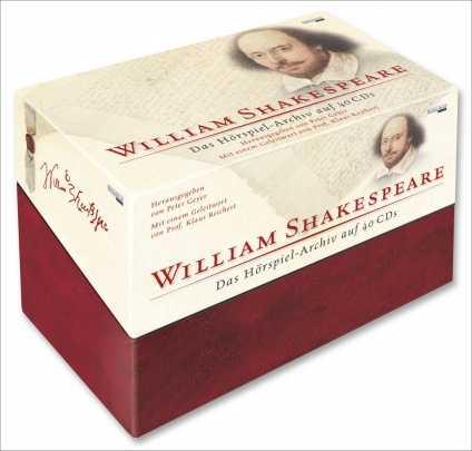 William Shakespeare: Das Hörspiel-Archiv auf 40 CDs.
