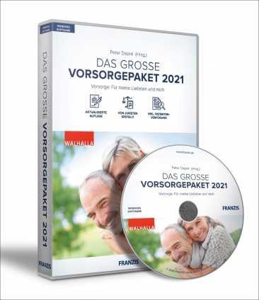 Das große Vorsorgepaket 2021
