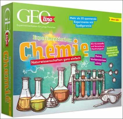 GEOlino Experimentierbox Chemie.