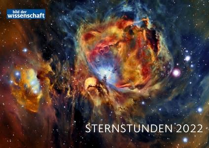 Sternstunden 2022. bild der wissenschaft Kalender.