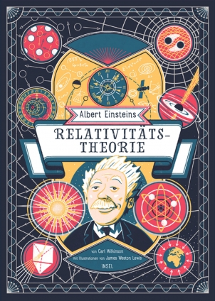 Albert Einsteins Relativitätstheorie.
