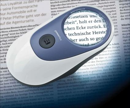 Powerlux ergonomische Leuchtlupe. High-Tech made in Germany!