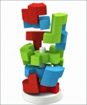 Logik-Turm. Ausgezeichneter Geometrie-Denksport in 3D!