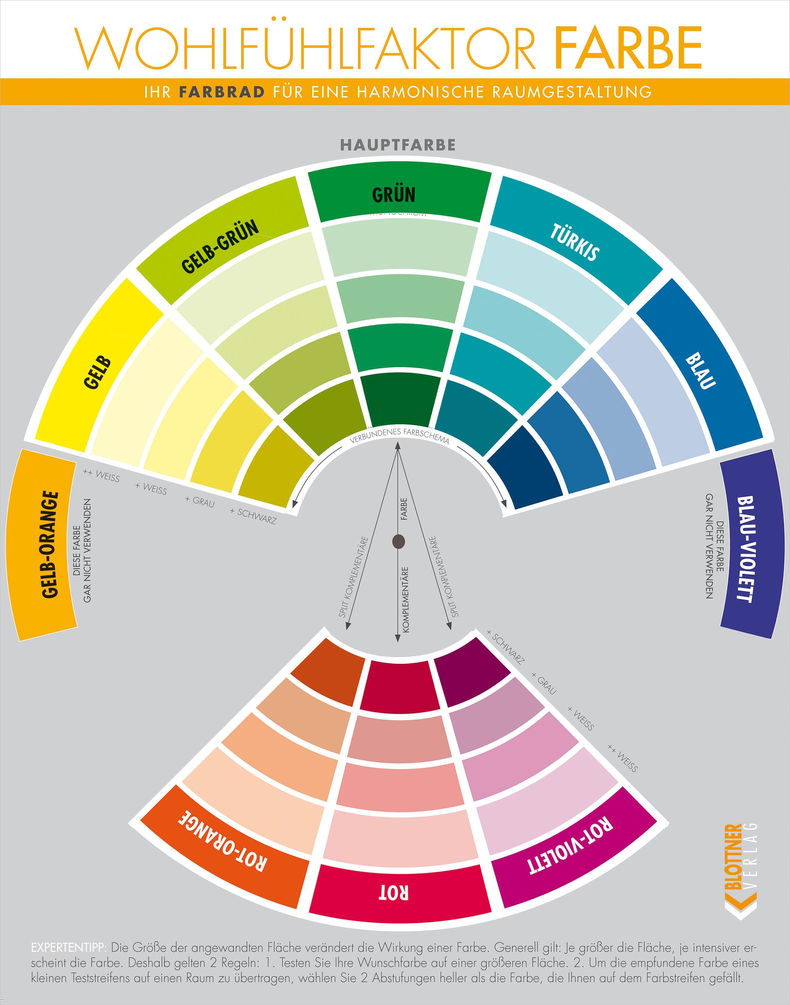 Das farbrad for Raumgestaltung literatur