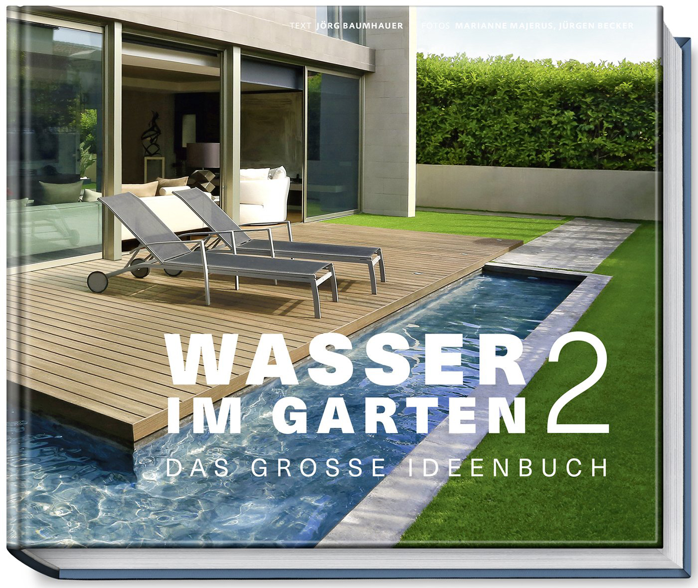 wasser im garten 2 das gro e ideenbuch. Black Bedroom Furniture Sets. Home Design Ideas