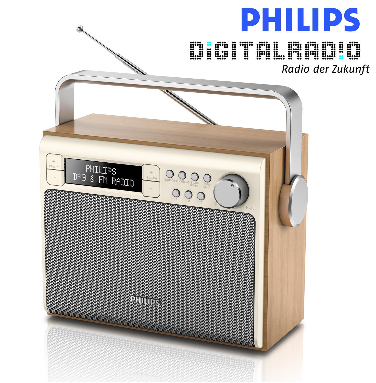 philips tragbares digitalradio. Black Bedroom Furniture Sets. Home Design Ideas