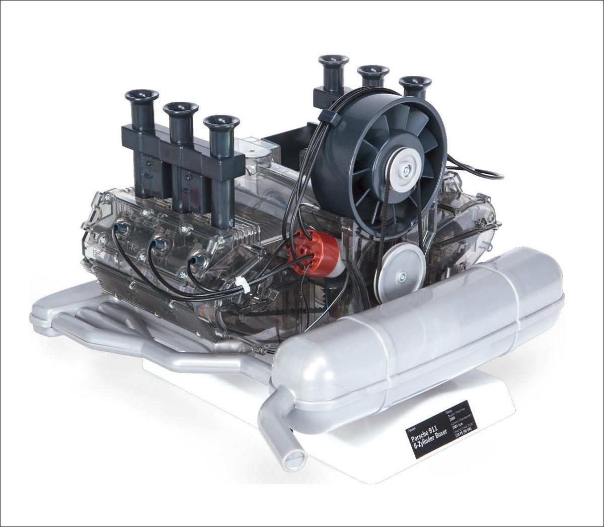 bild der wissenschaft Shop   PORSCHE 6-Zylinder-Boxer-Motor. Bausatz ...