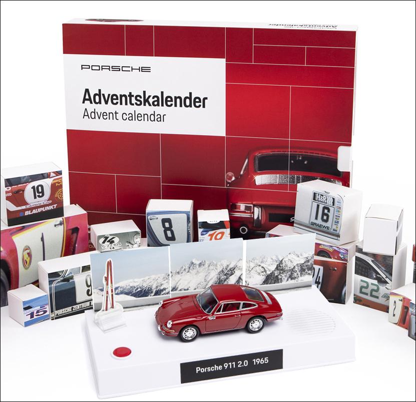 Weihnachtskalender Auf Rechnung.Bild Der Wissenschaft Shop Porsche Adventskalender Erlesenes