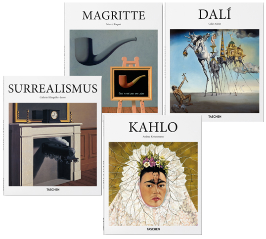 wissenschaftliche geschenkideen der surrealismus und seine k nstler dali magritte kahlo. Black Bedroom Furniture Sets. Home Design Ideas