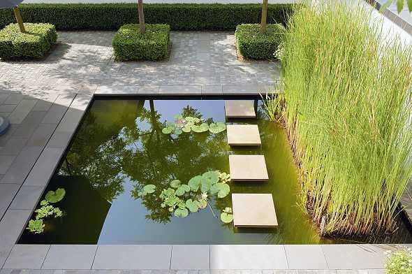 gartenarchitektur kleine garten – godsriddle, Garten seite