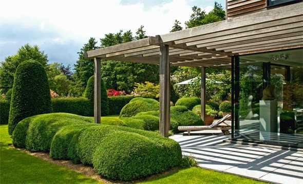 Sichtschutz terrasse ideen: garten sichtschutz ideen stein design ...