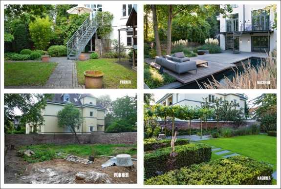 vorher-nachher-gärten, Garten und Bauen