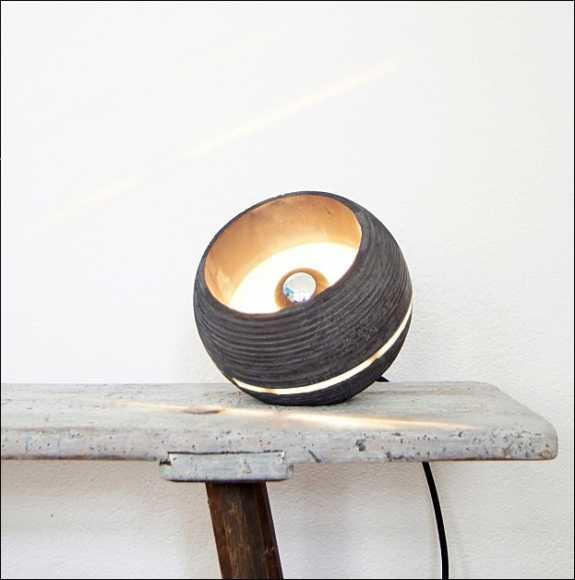 Bild Der Wissenschaft Shop Beton Lampe Nminus1 Made In Germany